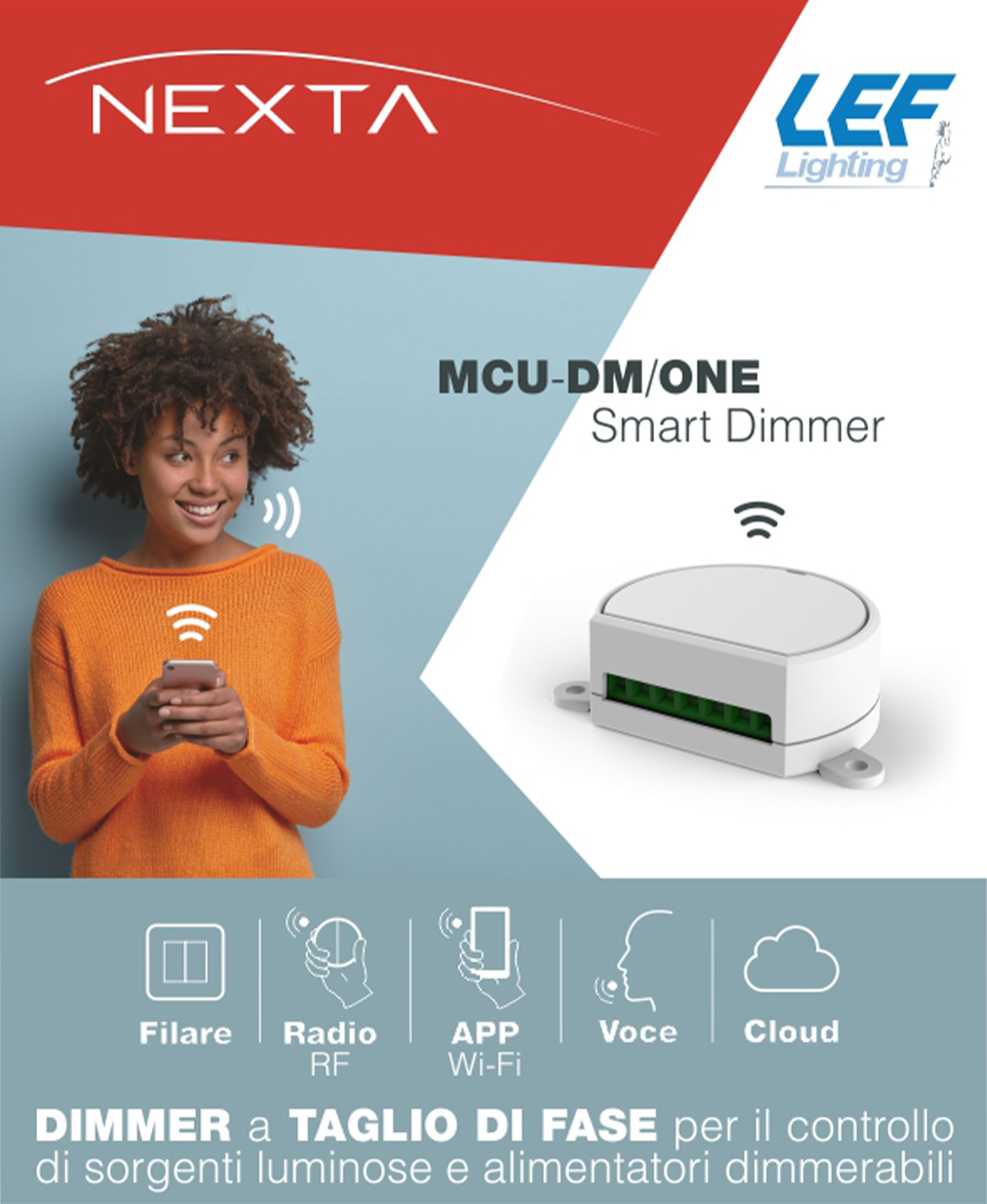 MCU-DM/ONE - Smart Dimmer